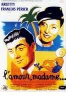 Affiche du film L'amour Madame