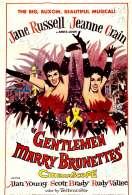 Affiche du film Les Hommes Epousent les Brunes