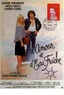 Affiche du film D'amour et d'eau Fraiche