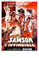 Affiche du film Samson l'invincible