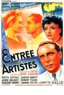 Affiche du film Entr�e des artistes