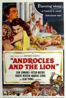 Affiche du film Androcles et le Lion