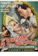 Affiche du film La duchesse des bas-fonds