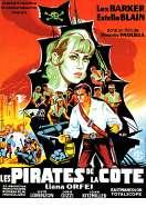 Affiche du film Les Pirates de la Cote