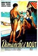 Affiche du film Dimanche d'aout