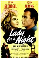 Affiche du film Lady For a Night