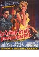 Affiche du film Le Crime Etait Presque Parfait