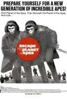 Affiche du film Les Evades de la Planete des Singes
