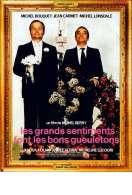 Affiche du film Les Grands Sentiments Font les Bons G
