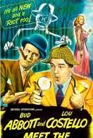 Affiche du film Deux Nigauds et l'homme Invisible