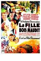 Affiche du film La Fille du Bois Maudit