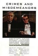 Affiche du film Crimes et d�lits