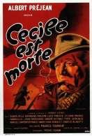Affiche du film C�cile est morte