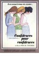 Affiche du film Confidences Pour Confidences