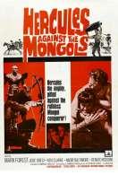 Affiche du film Maciste Contre les Mongols