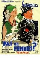 Affiche du film Pas de Femmes
