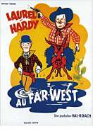 Affiche du film Laurel et Hardy Au Far West