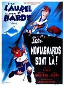 Affiche du film Les montagnards sont l�