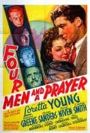 Affiche du film Quatre Hommes et Une Priere
