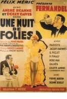 Affiche du film Une Nuit de Folies