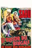 Affiche du film Le Tresor du Bengale
