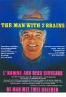 Affiche du film L'homme aux deux cerveaux