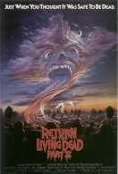 Affiche du film Le Retour des Morts Vivants 2