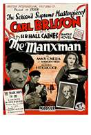 The manxman, le film