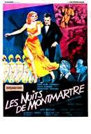 Affiche du film Les Nuits de Montmartre