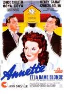 Annette et la Dame Blonde, le film