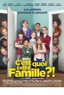 Affiche du film C'est quoi cette famille?!