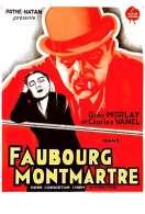 Affiche du film Faubourg Montmartre