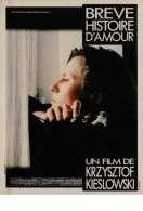 Affiche du film Br�ve histoire d'amour