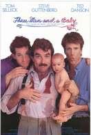 Affiche du film Trois hommes et un bebe