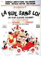 Affiche du film La Rue Sans Loi
