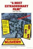 Affiche du film La bataille d'Alger