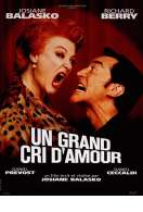 Affiche du film Un grand cri d'amour