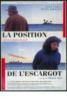 Affiche du film La position de l'escargot