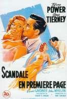 Scandale en Premiere Page