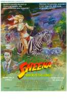 Affiche du film Sheena, reine de la jungle