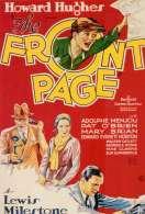 Affiche du film The Front Page