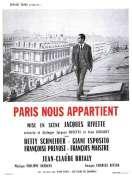 Affiche du film Paris nous appartient