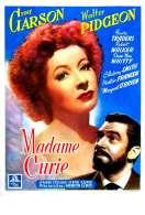 Affiche du film Madame Curie