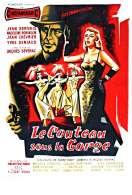 Affiche du film Le Couteau Sous la Gorge