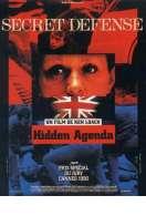 Affiche du film Hidden agenda
