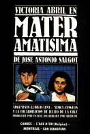 Affiche du film Mater Amatisima