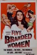 Affiche du film Cinq Femmes Marquees
