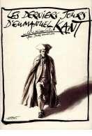 Affiche du film Les derniers jours d'Emmanuel Kant