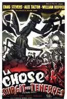 Affiche du film La chose surgie des t�n�bres