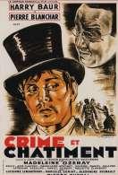 Affiche du film Crime et ch�timent